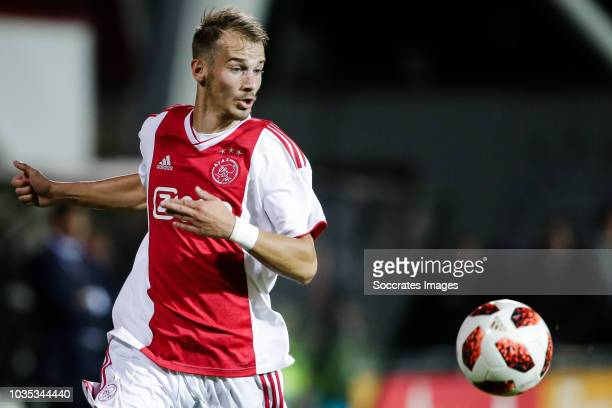 Vaclav Cerny of Ajax U23 during the Dutch Keuken Kampioen Divisie match between Ajax U23 v Helmond Sport at the De Toekomst on September 17, 2018 in...