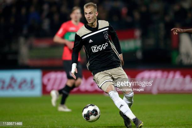 Vaclav Cerny of Ajax U23 during the Dutch Keuken Kampioen Divisie match between NEC Nijmegen v Ajax U23 at the Goffert Stadium on March 29, 2019 in...