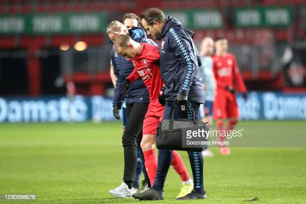 Vaclav Cerny of FC Twente during the Dutch Eredivisie match between Fc Twente v Ajax at the De Grolsch Veste on January 14, 2021 in Enschede...