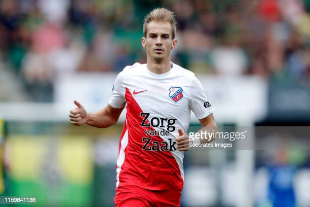 Vaclav Cerny of FC Utrecht during the Dutch Eredivisie match between ADO Den Haag v FC Utrecht at the Cars Jeans Stadium on August 4, 2019 in Den...