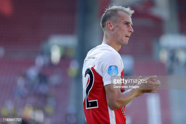 Vaclav Cerny of FC Utrecht during the Dutch Eredivisie match between FC Utrecht v VVV-Venlo at the Stadium Galgenwaard on August 25, 2019 in Utrecht...
