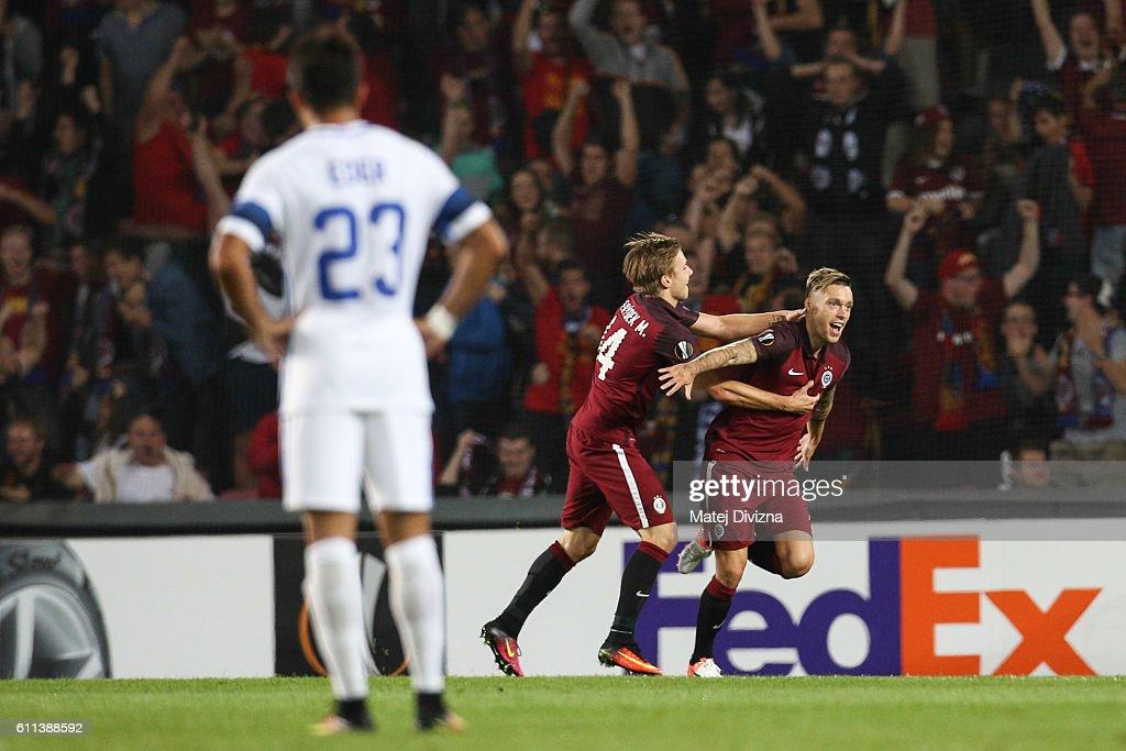AC Sparta Praha v FC Internazionale Milano - UEFA Europa League : News Photo