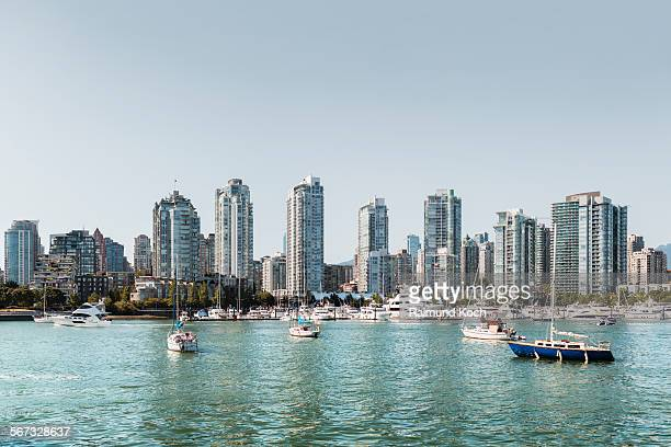 vacouver skyline - 2015 stock pictures, royalty-free photos & images