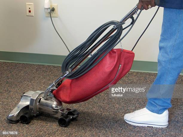 vacuuming - janitorial services stock photos and pictures