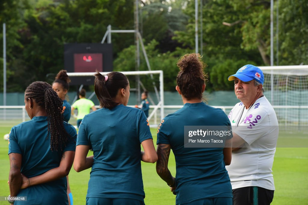 Brazil Women Training Session: FIFA Women's World Cup France 2019 : ニュース写真