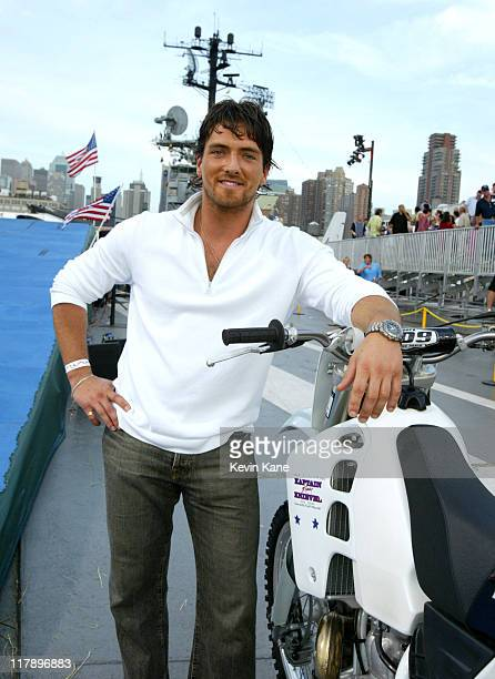"""Vadim Dale of """"Outback Jack"""" 7860_201 during TNT Presents """"Robbie Knievel Jumps the USS Intrepid, LIVE From New York"""" at USS Intrepid in New York..."""