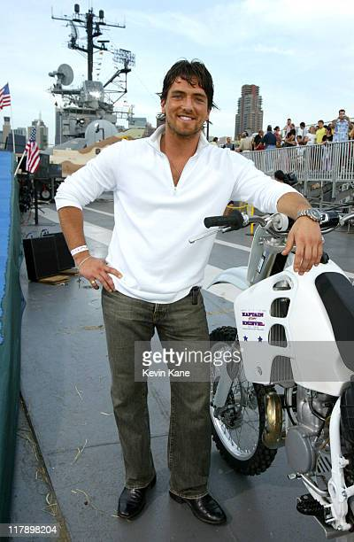 """Vadim Dale of """"Outback Jack"""" 7860_203 during TNT Presents """"Robbie Knievel Jumps the USS Intrepid, LIVE From New York"""" at USS Intrepid in New York..."""