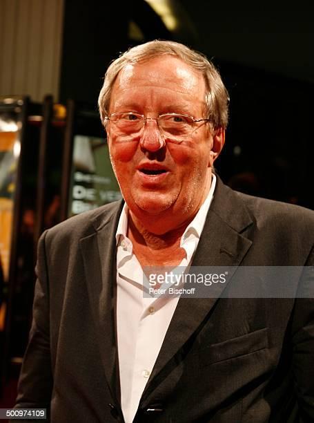 Vadim Glowna Hessischer Filmpreis und Kinopreis 2006 Gala Frankfurter Oper Frankfurt am Main Deutschland PNr 1483/2006 Brille Schauspieler Promi DB...