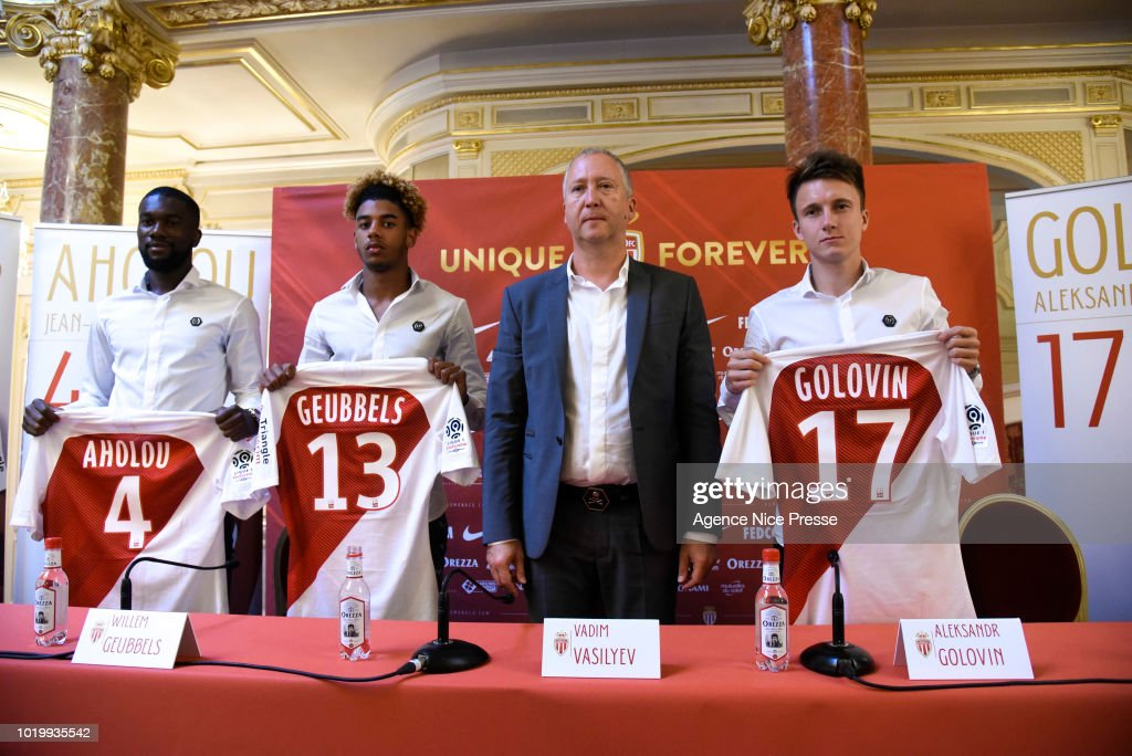 Presentation of New Players Monaco