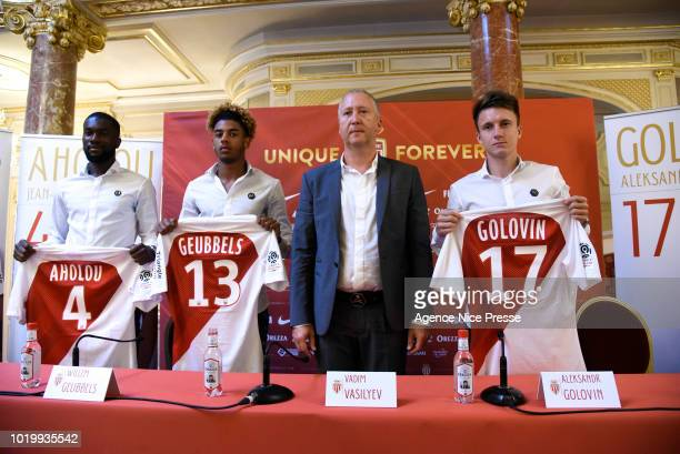 Vadim Vasilyev vice president of Monaco during the Presentation of New Players Monaco on August 20 2018 in Monaco Monaco