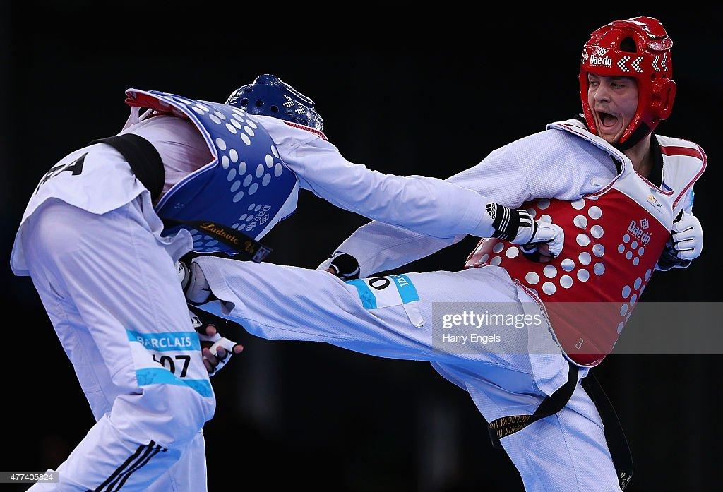 Taekwondo Day 5: Baku 2015 - 1st European Games : Nachrichtenfoto