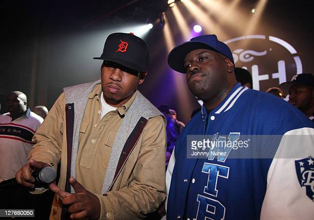 Vado and Funkmaster Flex attend Girls Night Out at Webster Hall on March 31 2011 in New York City