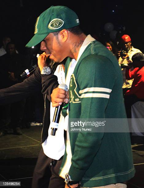 Vado performs during THe Dipset Reunion at Hammerstein Ballroom on November 26 2010 in New York City