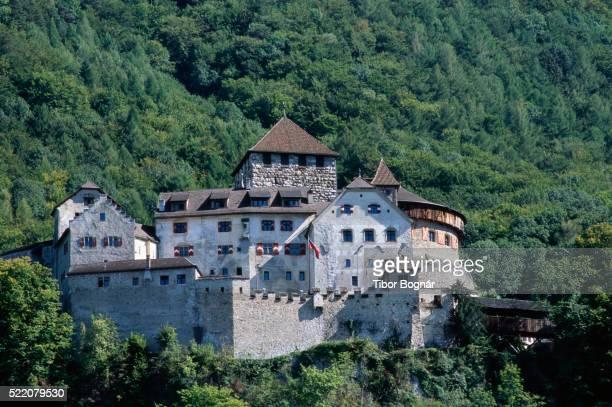 vaduz castle - vaduz stock pictures, royalty-free photos & images