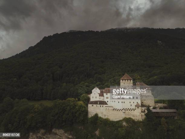 vaduz castle - vaduz castle stock photos and pictures