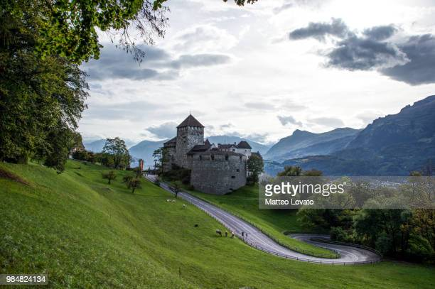 vaduz castle - principality of liechtenstein stock pictures, royalty-free photos & images