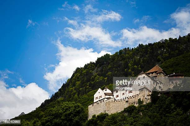 Vaduz castle the official residence of Prince Alois of Liechtenstein stands above the city in Vaduz Liechtenstein on Monday May 20 2013 Liechtenstein...