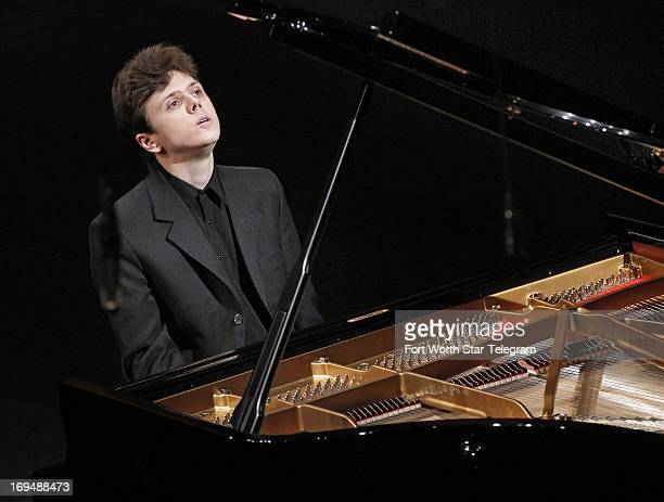 Vadym Kholodenko of the Ukraine performs in the preliminary round of the 14th Van Cliburn International Piano Competition at Bass Performance Hall in...