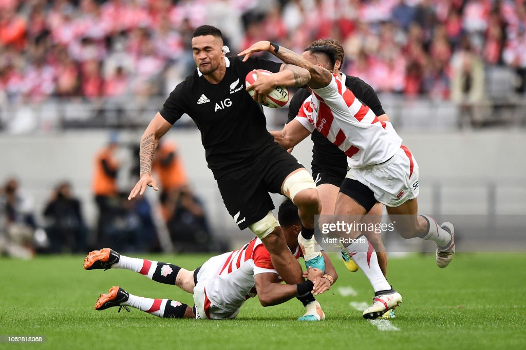 Japan v New Zealand : News Photo