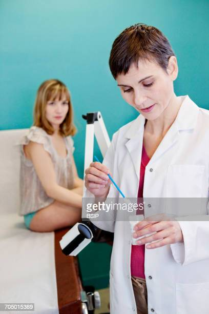 vaginal smear - pap smear stock photos and pictures
