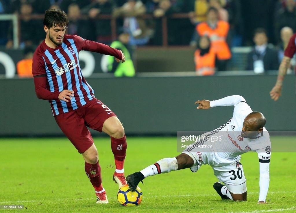 Trabzonspor vs Besiktas: Turkish Super Lig : News Photo