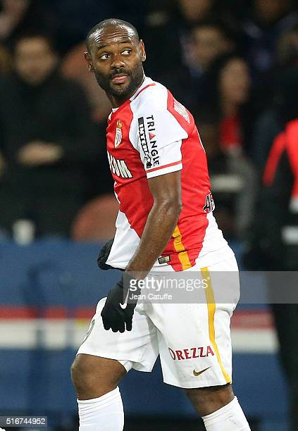 Vagner Silva de Souza aka Vagner Love of Monaco looks on during the French Ligue 1 match between Paris SaintGermain v AS Monaco at Parc des Princes...