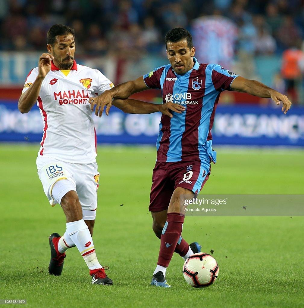 Turkish Super Lig: Trabzonspor v Galatasaray : ニュース写真