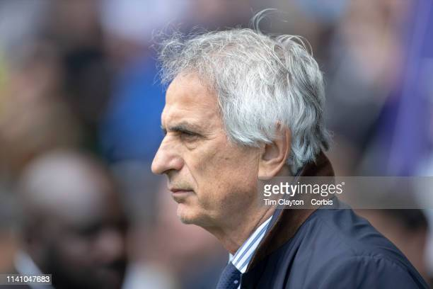 April 7: Vahid Halilhodzic, Manager of FC Nantes on the sideline during the Toulouse FC V Nantes, French Ligue 1 regular season match at the Stadium...