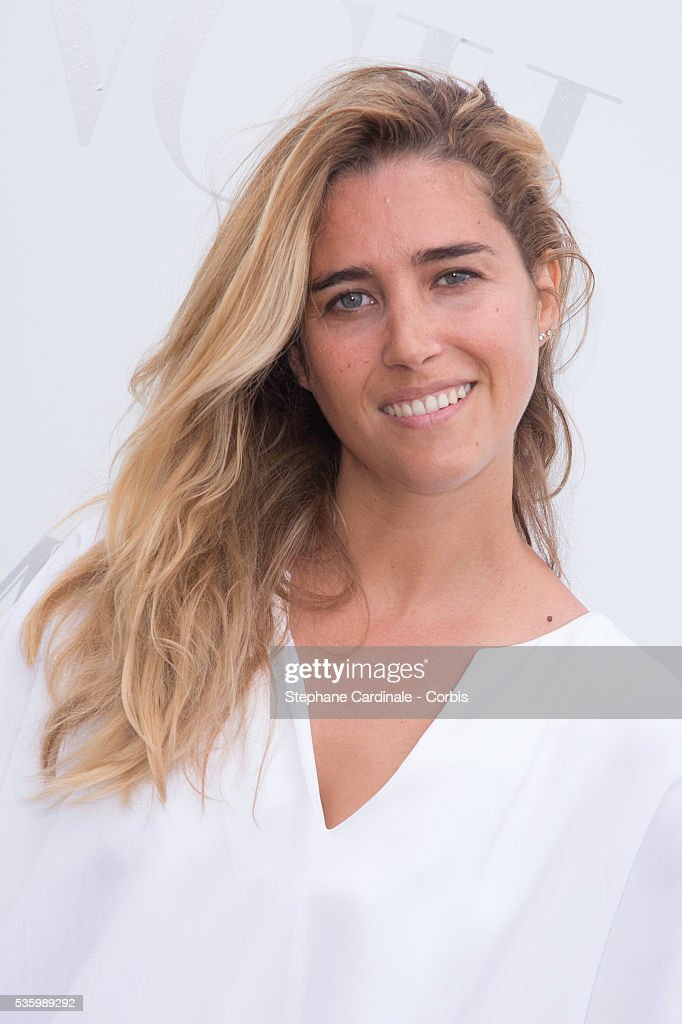 Vahina Giocante attends the 'Brunch Blanc' hosted by Barriere Group. Held on Yacht 'Excellence' on June 29, 2014 in Paris, France.