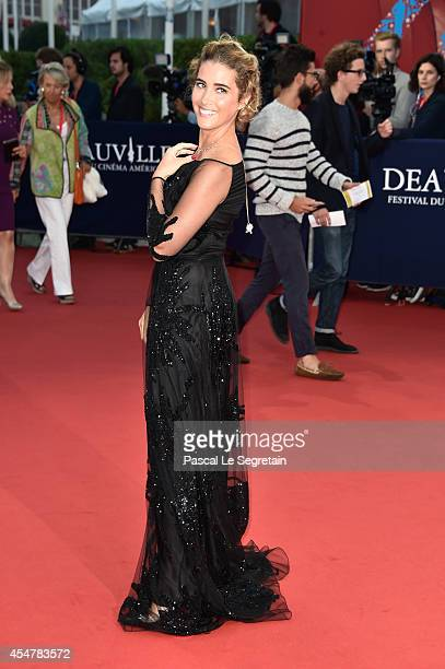 Vahina Giocante attends 'The Hundred Foot Journey' Premiere on September 6, 2014 in Deauville, France.