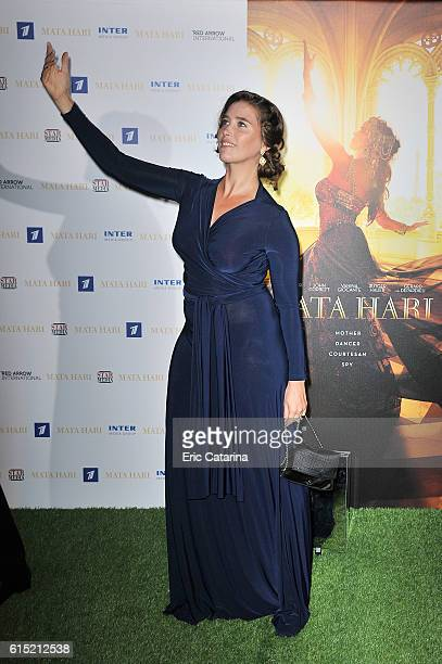 Vahina Giocante attends the Mata Hari photocall at the Majestic Hotel on October 16 2016 in Cannes France