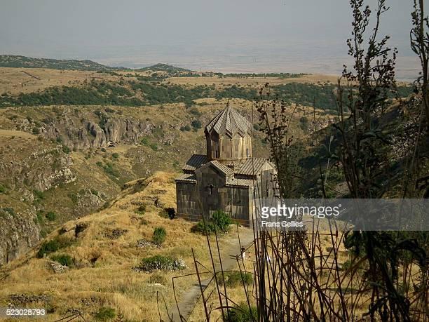 vahramashen church at amberd, armenia - frans sellies stockfoto's en -beelden