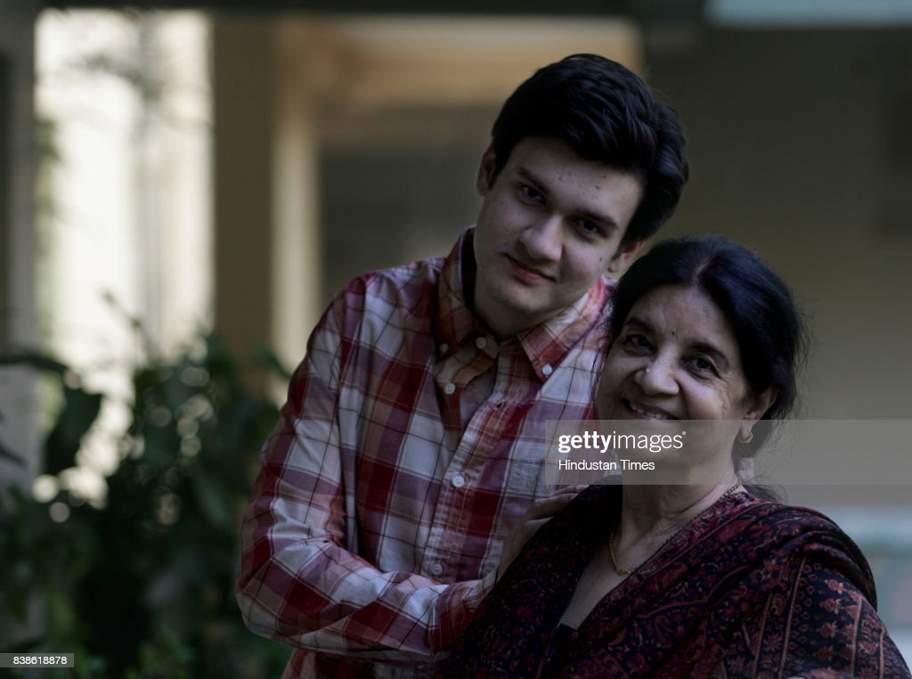 Vaibhav Anand and Sushma Anand, son and wife of