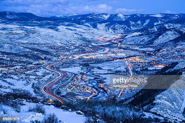 Vail Valley at Night
