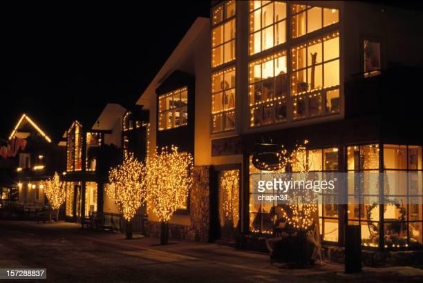 Vail Village at Night