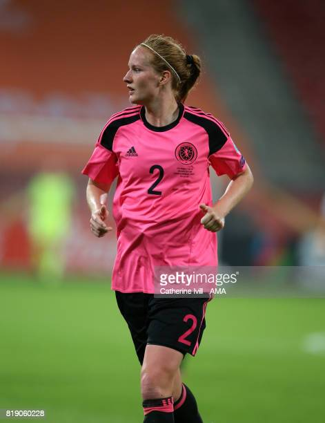 Vaila Barsley of Scotland Women during the UEFA Women's Euro 2017 match between England and Scotland at Stadion Galgenwaard on July 19 2017 in...
