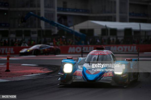 Vaillante Rebellion during the 6 Hours of Mexico Practice as part of FIA World Endurance Championship at Hermanos Rodriguez Race Track on September...