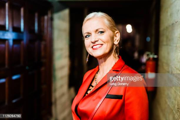 Vaiva Tuckuviene of Zensations Magazine attends the Sanctuary Fashion Week on March 7 2019 in Los Angeles California