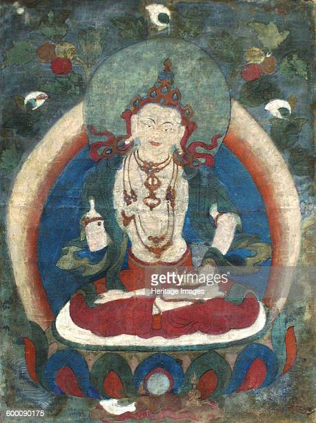 Vajrasattva Early 19th century Found in the collection of State Hermitage St Petersburg Artist Tibetan culture
