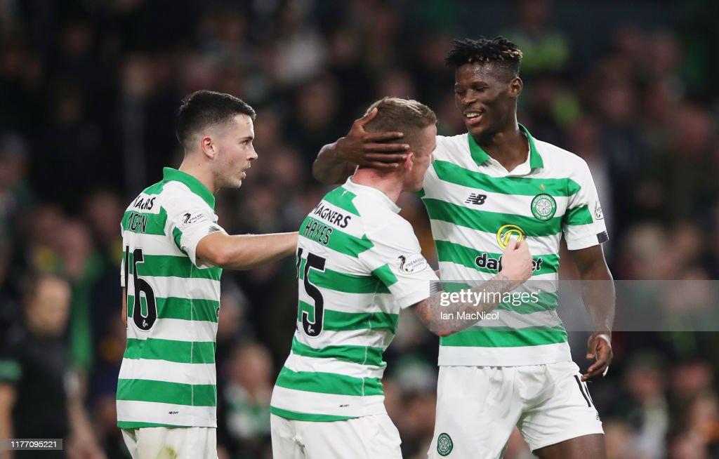 Celtic v Partick Thistle - Betfred Cup Scottish League Cup: Quarter Final : Fotografía de noticias