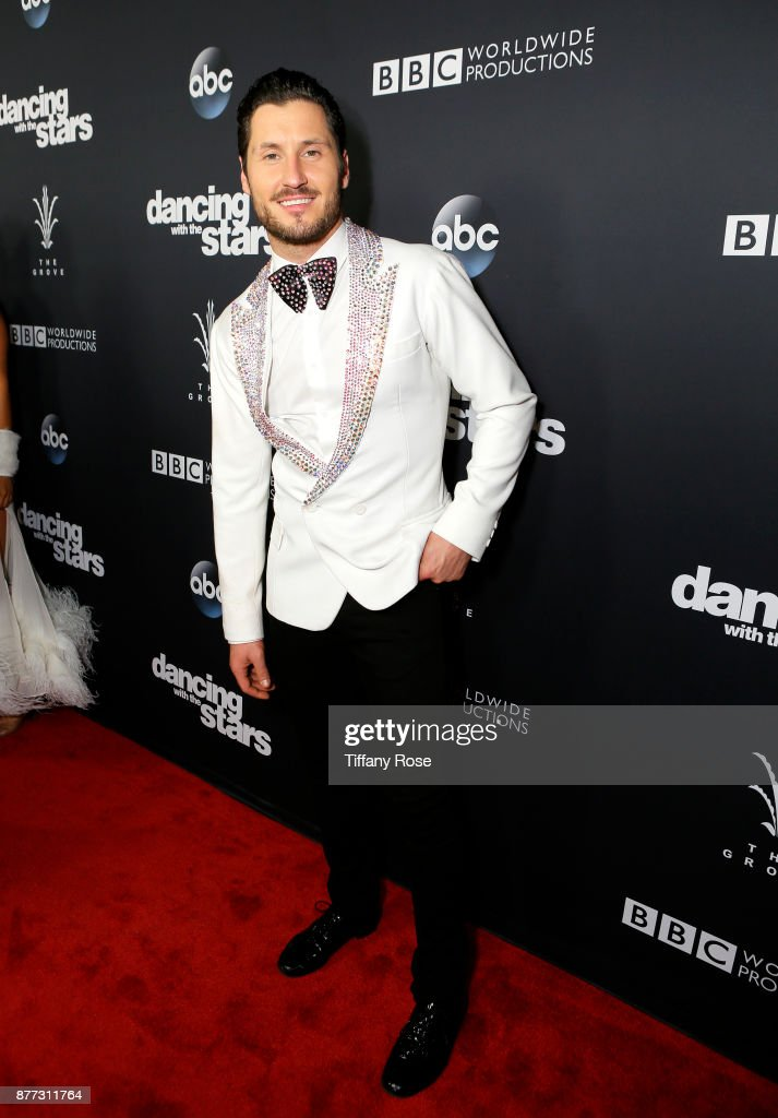 Val Chmerkovskiy at The Grove Hosts Dancing with the Stars Live Finale at The Grove on November 21, 2017 in Los Angeles, California.