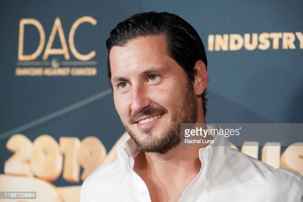 Val Chmerkovskiy attends the 2019 Industry Dance Awards at Avalon Hollywood on August 14 2019 in Los Angeles California
