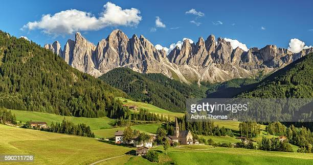 Val di Funes, Dolomite Alps, South Tyrol, Italy, Europe