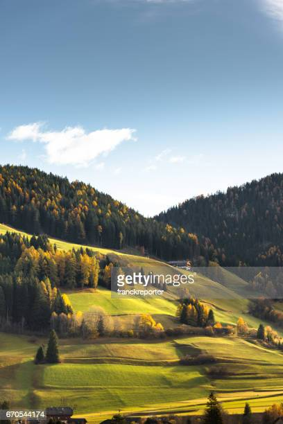 val di funes landscape