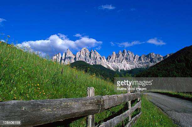 val di funes & odles mts, dolomites, italy