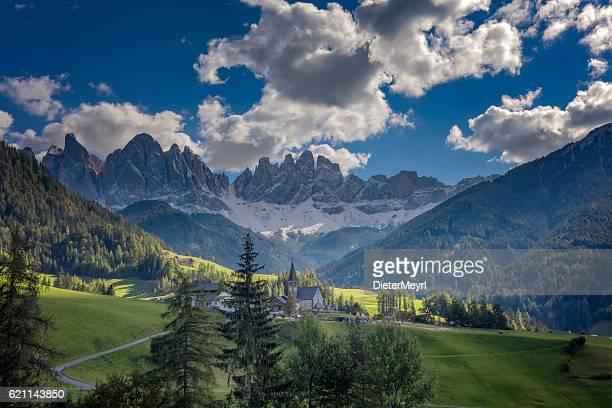 Val di Funès, Santa Magdalena & Dolomiti, Italia
