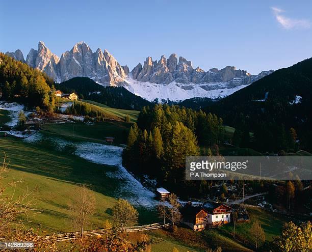 Val di Funes, Villnosstal, Dolomites, Italy