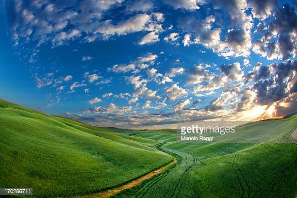 val d'orcia - san quirico d'orcia stock pictures, royalty-free photos & images