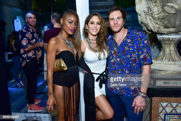 Val Harvey Guest and Gregory Siff attends the 8th Annual Bombay Sapphire Artisan Series Finale Hosted By Issa Rae at Villa Casa Casuarina on December...