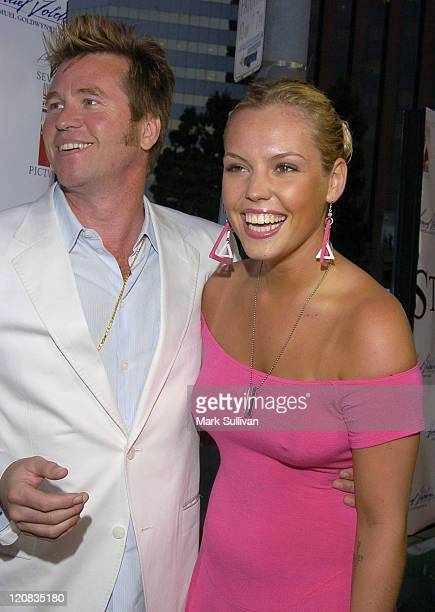 Val Kilmer and Agnes Bruckner during 'Stateside' Los Angeles Premiere Arrivals at The Crest Theatre in Westwood California United States